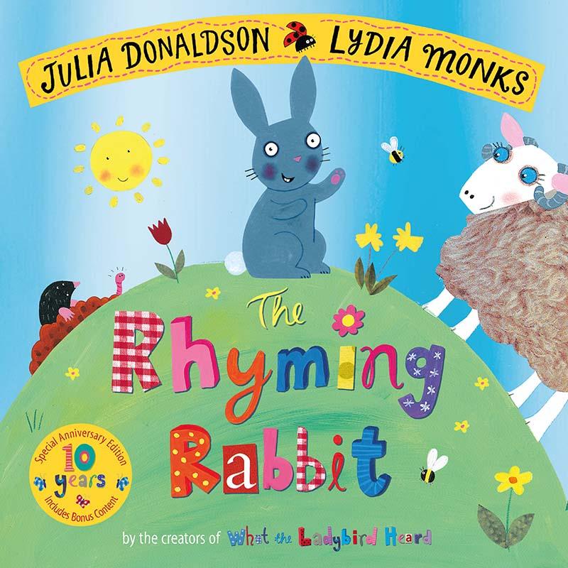 The Rhyming Rabbit 10th Anniversary Edition - Jacket