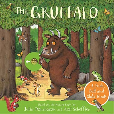 The Gruffalo: A Push, Pull and Slide Book - Jacket