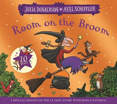 Room on the Broom 20th Anniversary Edition - Jacket