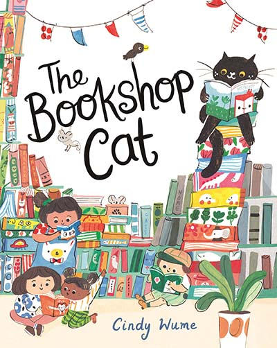 The Bookshop Cat - Jacket