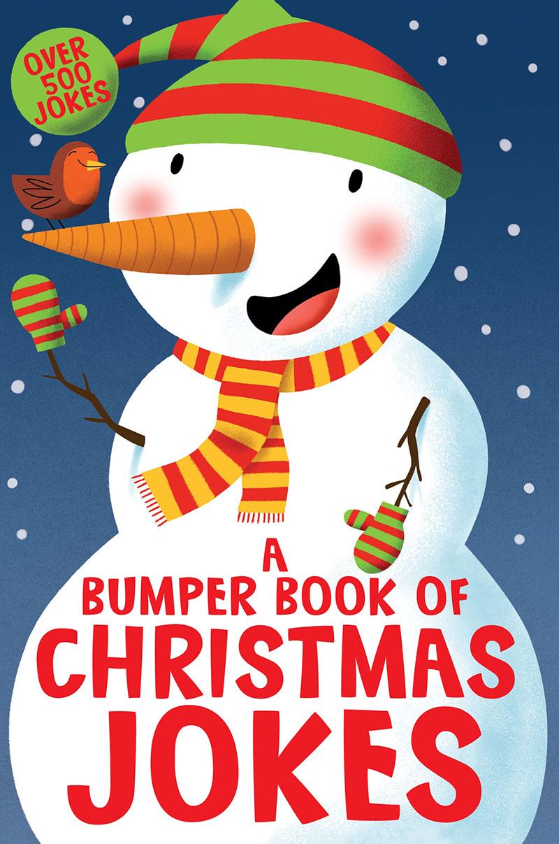 A Bumper Book of Christmas Jokes - Jacket
