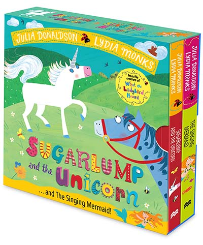 Sugarlump and the Unicorn and The Singing Mermaid Board Book Slipcase - Jacket