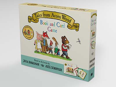 Tales from Acorn Wood Book and Card Game - Jacket