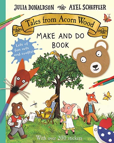 Tales from Acorn Wood Make and Do Book - Jacket