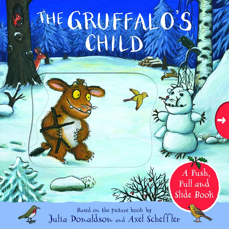 The Gruffalo's Child: A Push, Pull and Slide Book - Jacket
