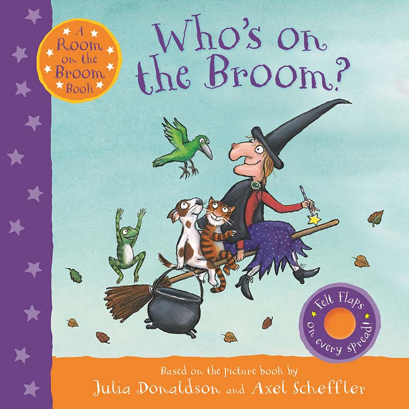 Who's on the Broom? - Jacket