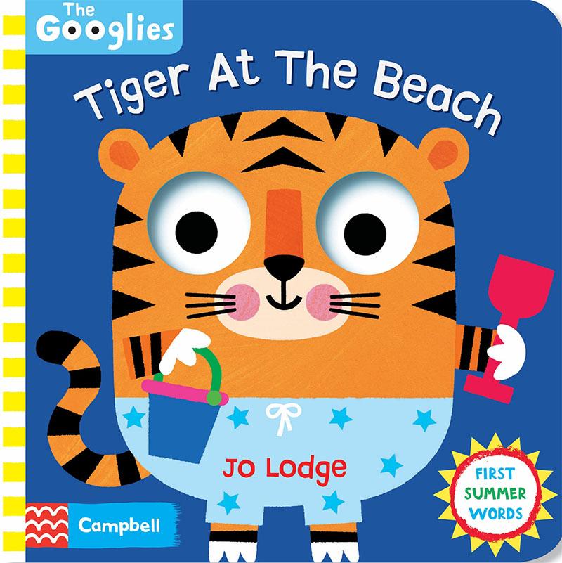 Tiger At The Beach - Jacket