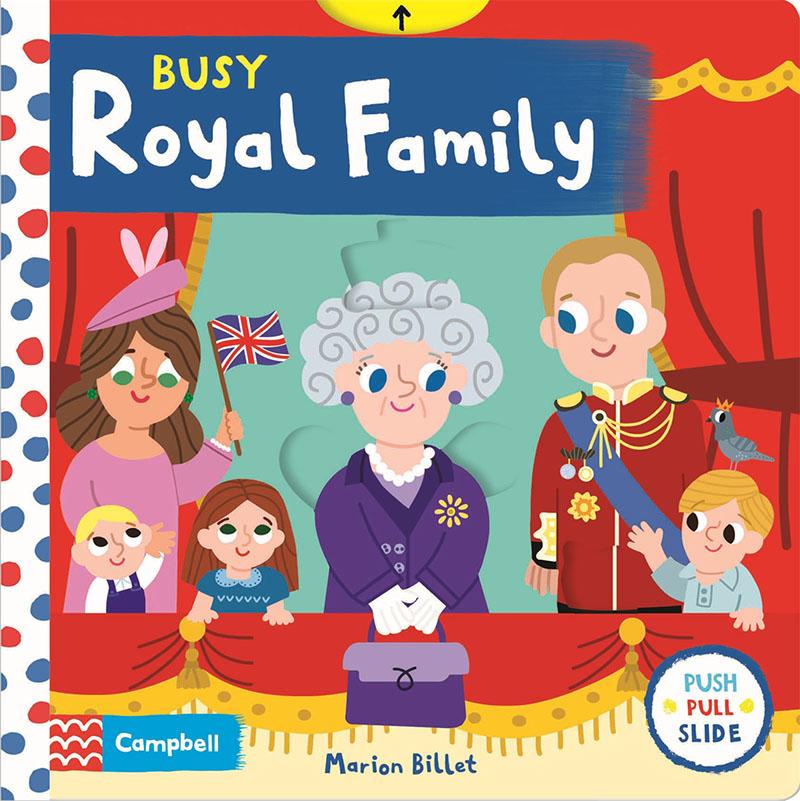 Busy Royal Family - Jacket