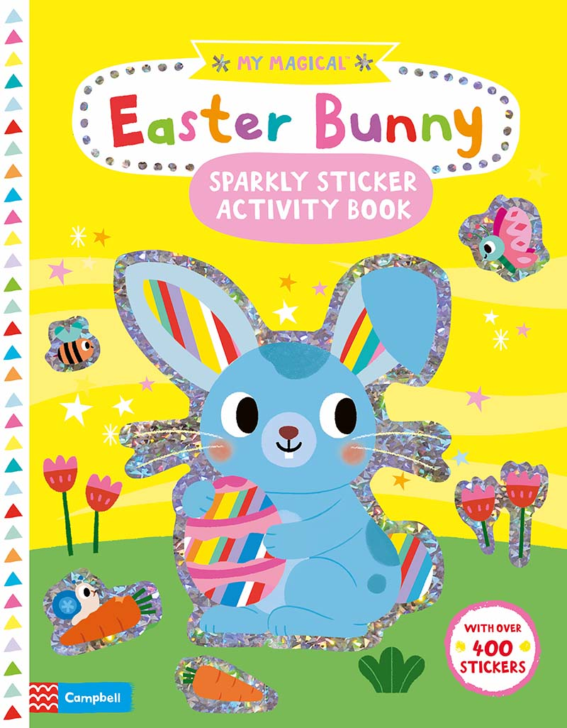 My Magical Easter Bunny Sparkly Sticker Activity Book - Jacket