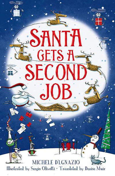 Santa Gets a Second Job - Jacket