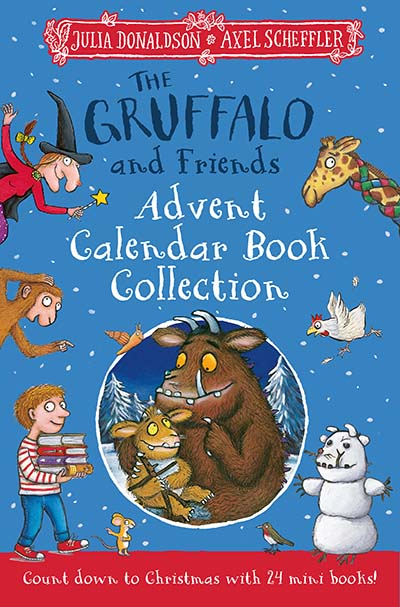 The Gruffalo and Friends Advent Calendar Book Collection - Jacket