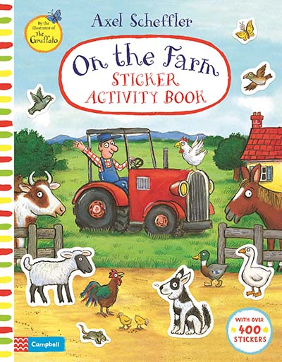 On The Farm Sticker Activity Book - Jacket
