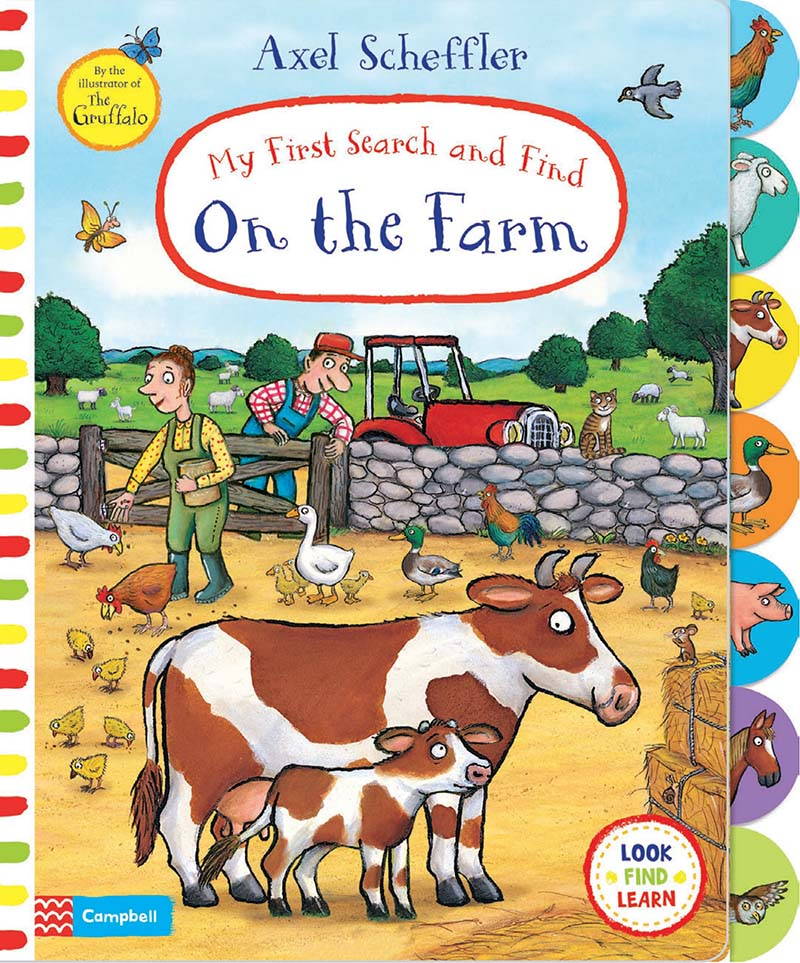 My First Search and Find: On the Farm - Jacket