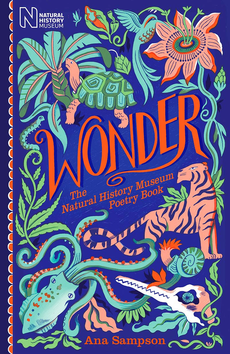 Wonder: The Natural History Museum Poetry Book - Jacket