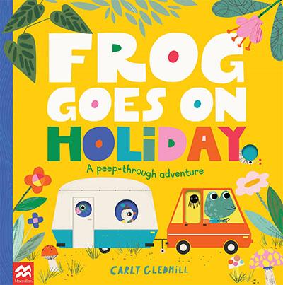 Frog Goes on Holiday - Jacket