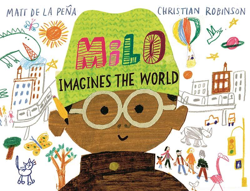 Milo Imagines The World - Jacket