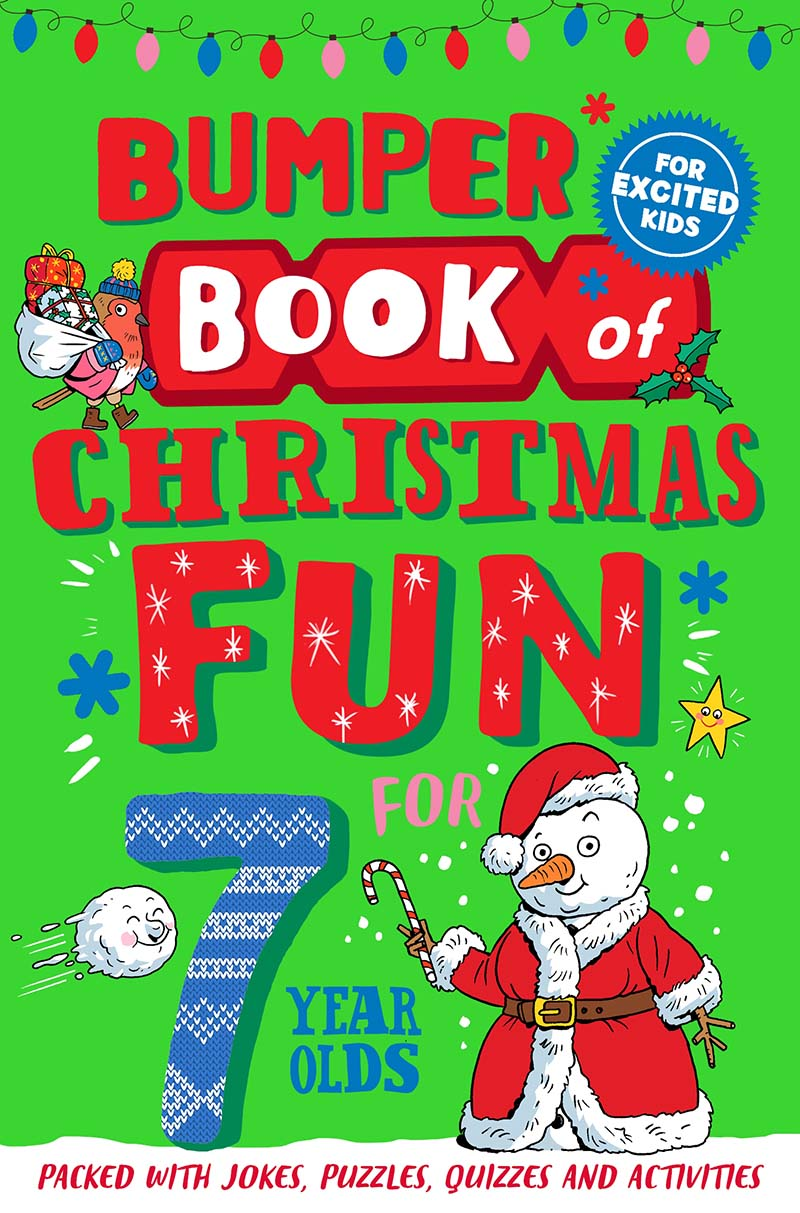 Bumper Book of Christmas Fun for 7 Year Olds - Jacket