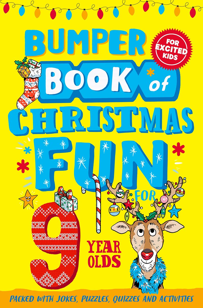 Bumper Book of Christmas Fun for 9 Year Olds - Jacket