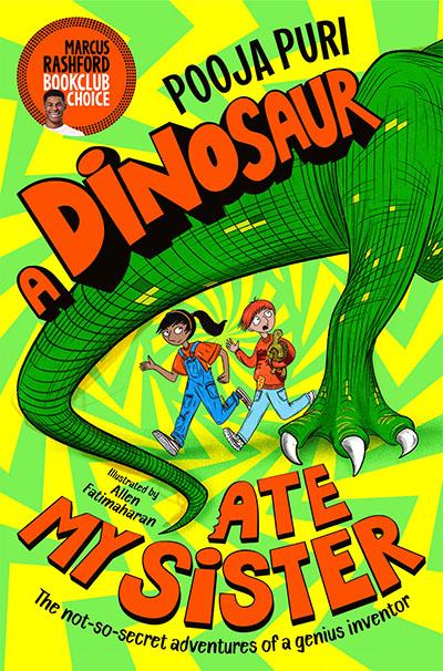 A Dinosaur Ate My Sister - Jacket