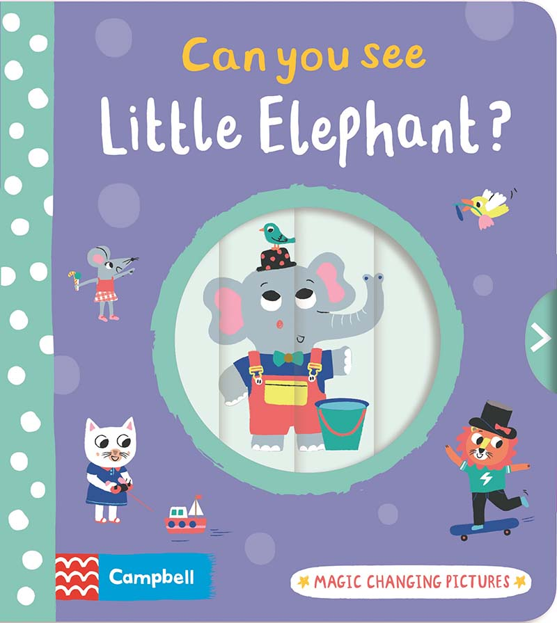 Can you see Little Elephant? - Jacket