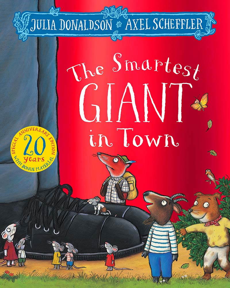The Smartest Giant in Town 20th Anniversary Edition - Jacket