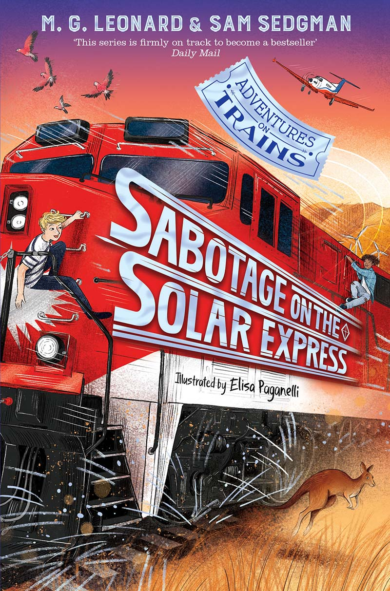 Sabotage on the Solar Express - Jacket