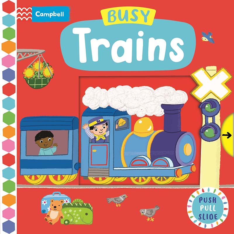 Busy Trains - Jacket