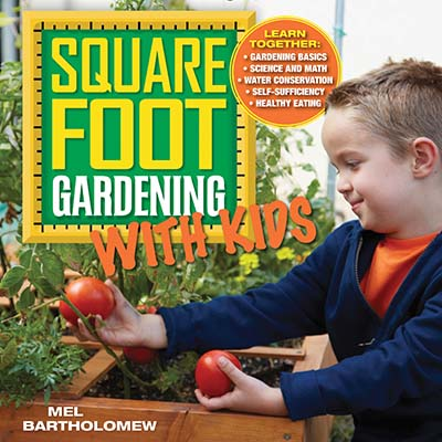 Square Foot Gardening with Kids - Jacket