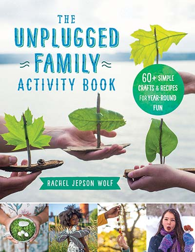 The Unplugged Family Activity Book - Jacket