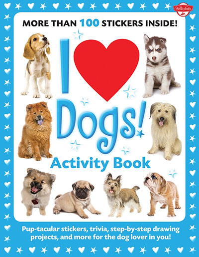 I Love Dogs! Activity Book - Jacket