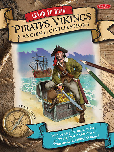 Learn to Draw Pirates, Vikings & Ancient Civilizations - Jacket