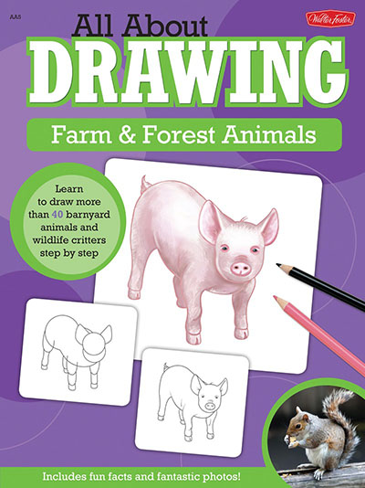 All About Drawing Farm & Forest Animals - Jacket