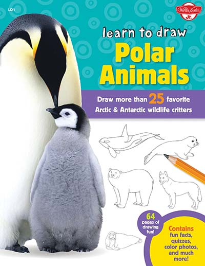 Learn to Draw Polar Animals - Jacket