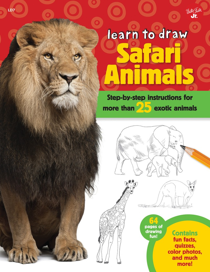 Learn to Draw Safari Animals - Jacket