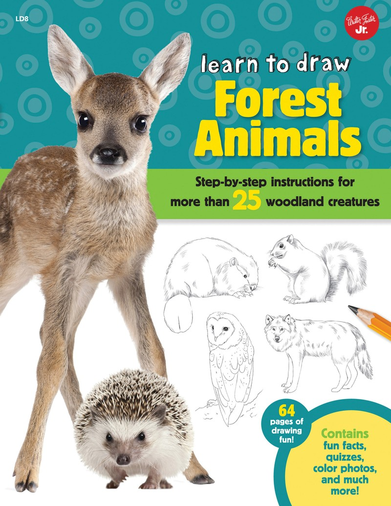 Learn to Draw Forest Animals - Jacket