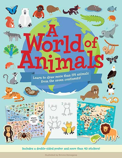 A World of Animals - Jacket