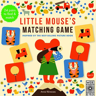 Little Mouse's Matching Game - Jacket