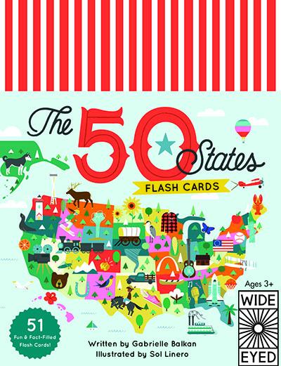 The 50 States - Flashcards - Jacket