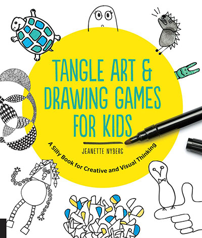 Tangle Art and Drawing Games for Kids - Jacket