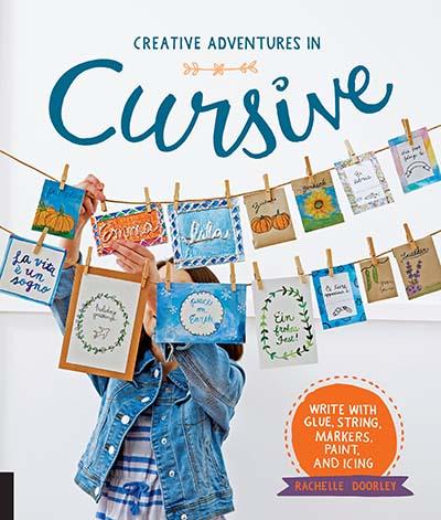 Creative Adventures in Cursive - Jacket