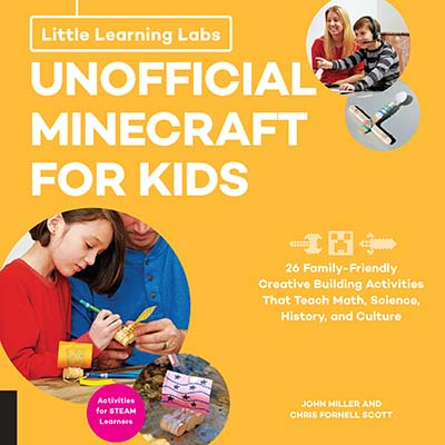 Little Learning Labs: Unofficial Minecraft for Kids, abridged paperback edition - Jacket