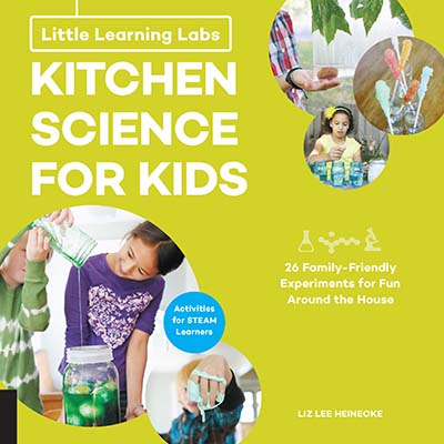Little Learning Labs: Kitchen Science for Kids, abridged paperback edition - Jacket