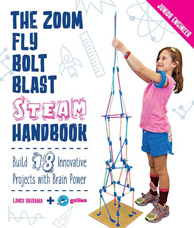 The Zoom, Fly, Bolt, Blast STEAM Handbook - Jacket