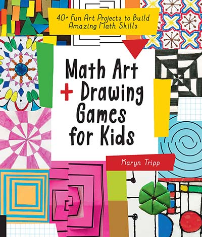 Math Art and Drawing Games for Kids - Jacket