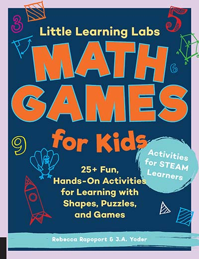 Little Learning Labs: Math Games for Kids, abridged paperback edition - Jacket