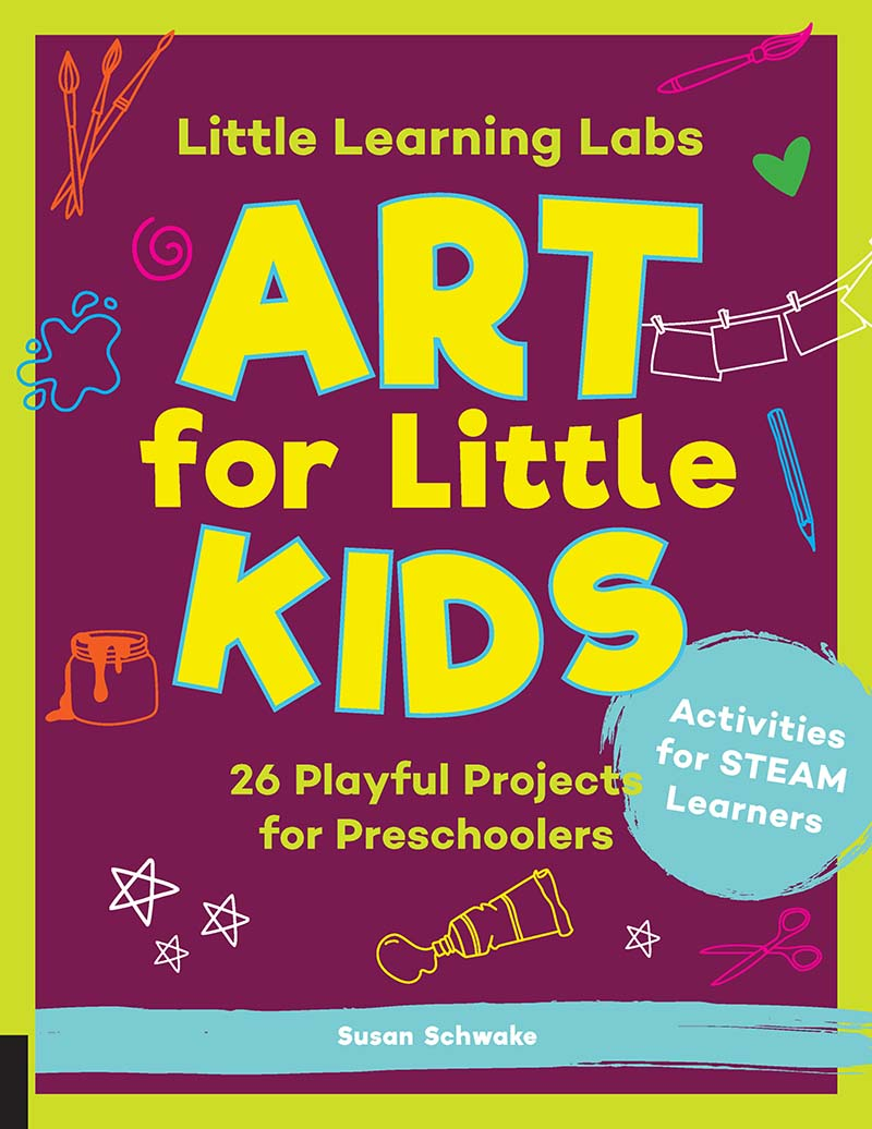 Little Learning Labs: Art for Little Kids, abridged paperback edition - Jacket