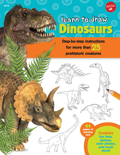 Learn to Draw Dinosaurs - Jacket