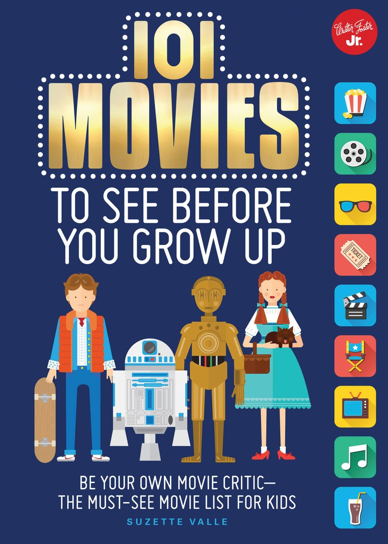 101 Movies to See Before You Grow Up - Jacket