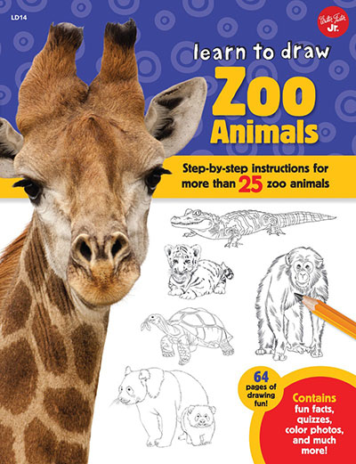 Learn to Draw Zoo Animals - Jacket