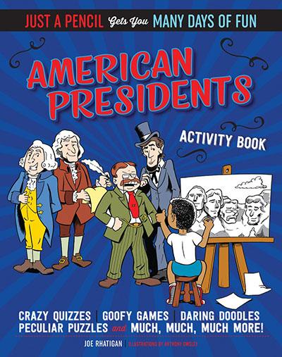American Presidents Activity Book - Jacket